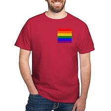 Rainbow Dymo T-Shirt