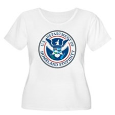 Department Of Homeland Stupidity Plus Size T-Shirt