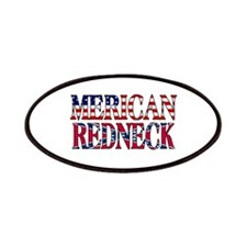 Merican Redneck USA Confederate Flag Patches