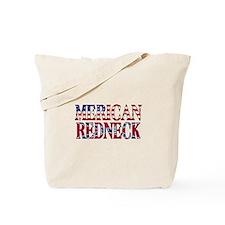 Merican Redneck USA Confederate Flag Tote Bag