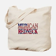 Merican Redneck USA Confederate Flag Tote Bag