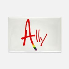 Ally Rectangle Magnet