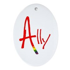 Ally Oval Ornament