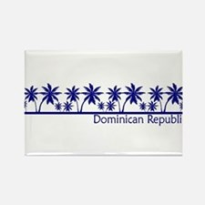 Funny Dominica Rectangle Magnet
