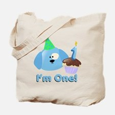 1st Birthday Doggy Tote Bag