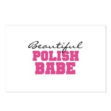 Polish Babe Postcards (Package of 8)