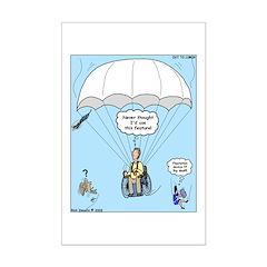 Wheelchair Parachute Posters