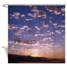 Bellingham Bay Sunset Shower Curtain