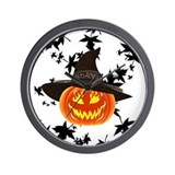 Halloween Wall Clocks