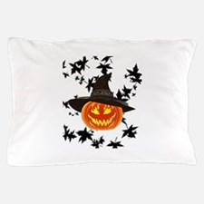 Grinning Pumpkin Pillow Case