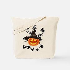 Grinning Pumpkin Tote Bag
