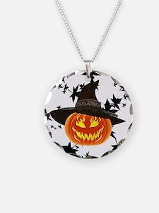 Grinning Pumpkin Necklace