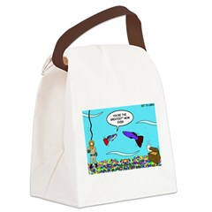 Guppy Mothers Day Canvas Lunch Bag