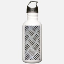 Metal Plate Water Bottle