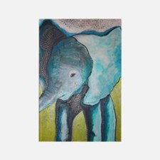 Canon's Elephant Rectangle Magnet