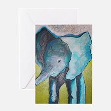 Canon's Elephant Greeting Card