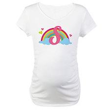 Letter S Rainbow Monogrammed Shirt