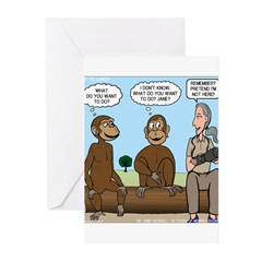 Monkey Business Greeting Cards (Pk of 10)