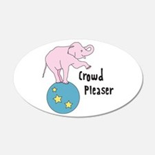 Crowd Pleaser Wall Decal