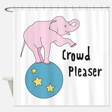 Crowd Pleaser Shower Curtain