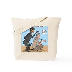 Monkey Grooming Tote Bag