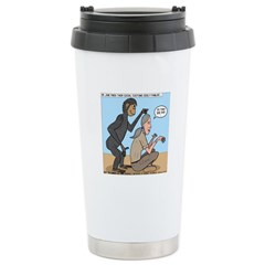 Monkey Grooming Travel Mug