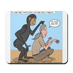 Monkey Grooming Mousepad