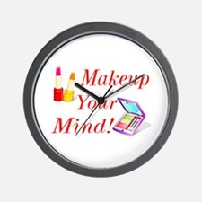 Makeup Your Mind! Wall Clock