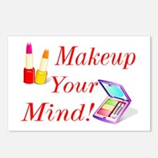 Makeup Your Mind! Postcards (Package of 8)