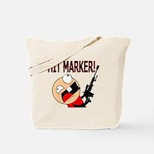 Funny Hit Marker Rage Tote Bag