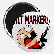 Funny Hit Marker Rage Magnet