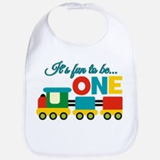 Its Fun to be One Birthday Design Bib