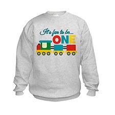 Its Fun to be One Birthday Design Sweatshirt