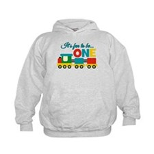 Its Fun to be One Birthday Design Hoodie
