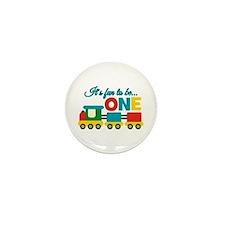 Its Fun to be One Birthday Design Mini Button (10