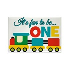 Its Fun to be One Birthday Design Magnets