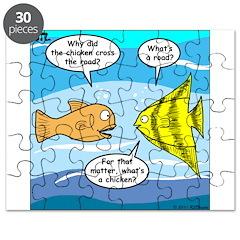 Stupid Fish Jokes Puzzle