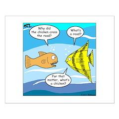 Stupid Fish Jokes Posters