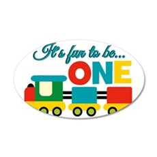 Its Fun to be One Birthday Design Wall Decal