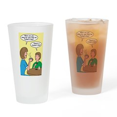 Fathers Day Discovery Drinking Glass