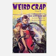 Weird Crap Postcards (Package of 8)