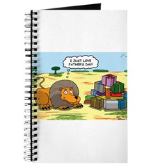 Lion Fathers Day Journal