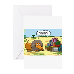 Lion Fathers Day Greeting Cards (Pk of 20)