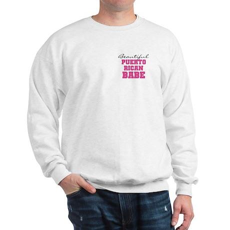 Puerto Rican Babe Sweatshirt