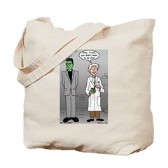 Frankenstein Fathers Day Tote Bag