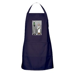 Frankenstein Fathers Day Apron (dark)