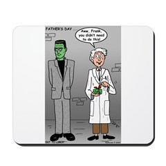 Frankenstein Fathers Day Mousepad