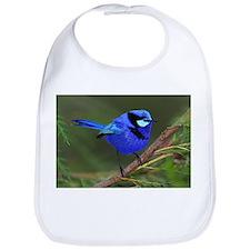 Blue Wren Bib