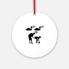 Duck Duck Goose Ornament (Round)