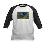 Blue Wren Kids Baseball Jersey